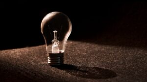light bulb signifying ideas and dreams